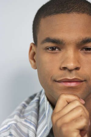 cropped shots: Portrait of a young man