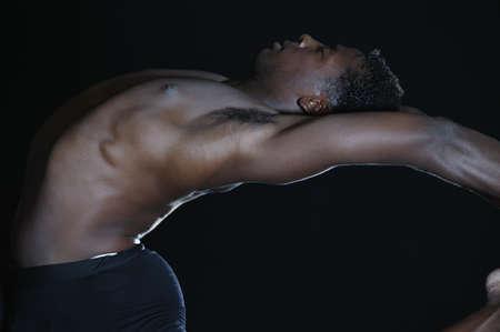 Man stretching Stock Photo - 16073511