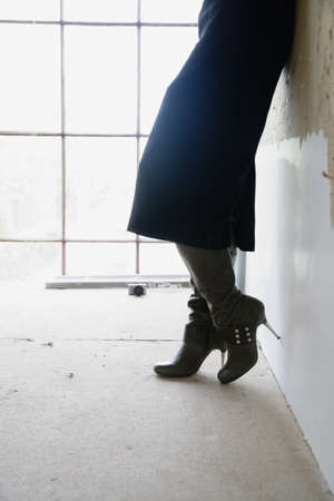 high heeled: Woman in high heeled boots LANG_EVOIMAGES