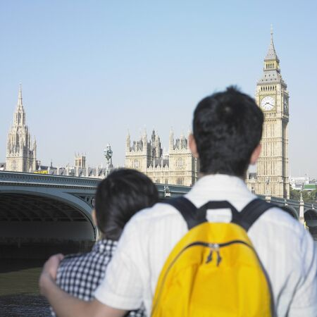 Young couple viewing London, England Stock Photo - 16073764