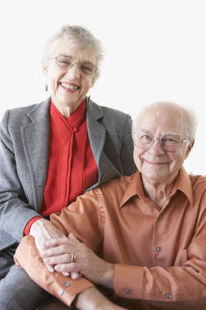 ninetys: Portrait of senior couple