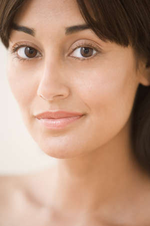 Close up portrait of mid adult woman  Stock Photo - 16074067