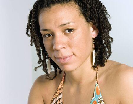 Young womanÃŒs face Stock Photo - 16074221