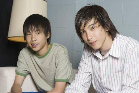 kinfolk: Teenage boys smiling for the camera