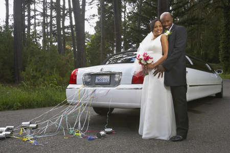 honeymooner: Los reci�n casados ??que abrazan en su coche LANG_EVOIMAGES