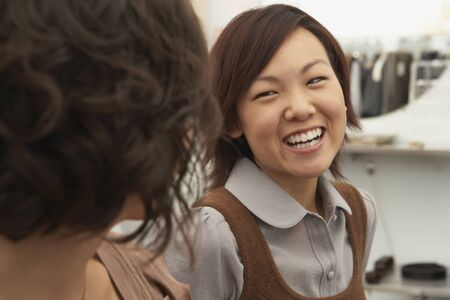 Young woman laughing Stock Photo - 16089693