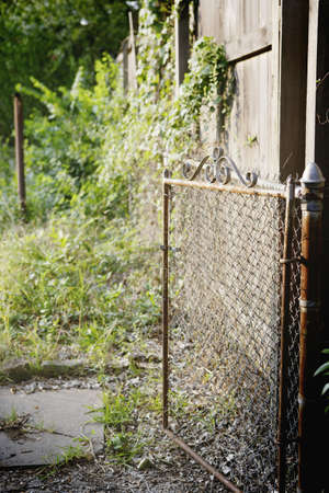 Rusted gate Stock Photo - 16089870