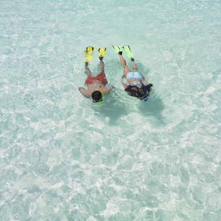 truelove: Couple snorkeling