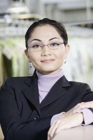 edmonds: Close up of Asian businesswoman, Edmonds, Washington, United States