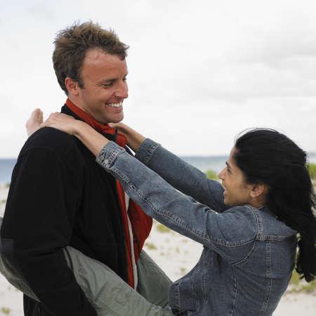 busselton: Couple on the beach, Busselton, Australia