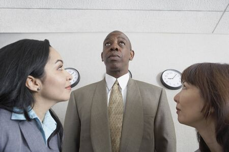 African businessman with co-workers Stock Photo - 16090437