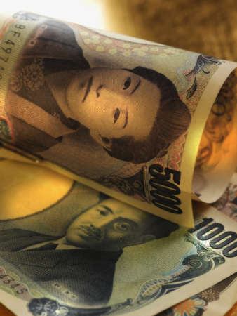 Close up of Yen Stock Photo - 16092043