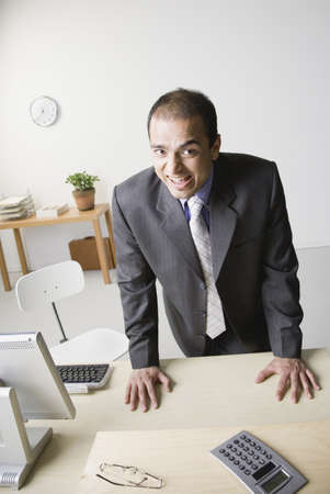 Indian businessman yelling Stock Photo - 16092388