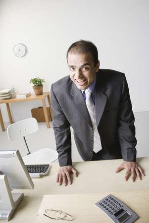 Indian businessman yelling Stock Photo - 16092388