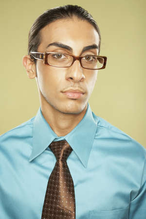 Middle Eastern businessman wearing eyeglasses Stock Photo - 16092538