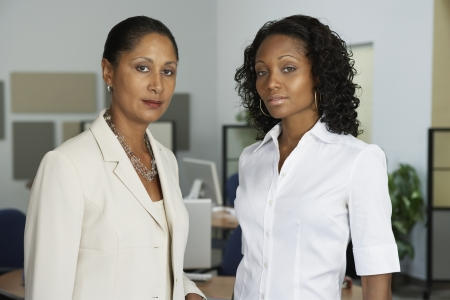 Portrait of African businesswomen in office Stock Photo - 16092939