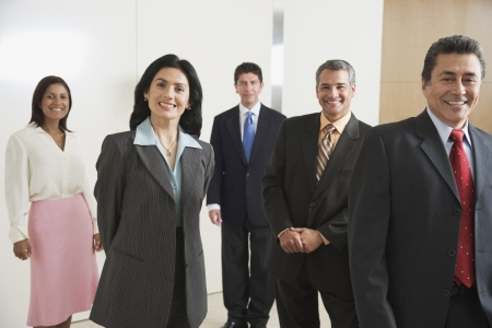 Portrait of Hispanic businesspeople Stock Photo - 16093000