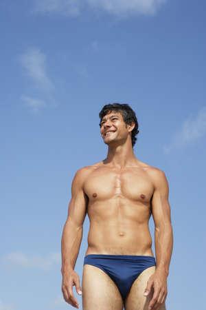 bathing   suit: South American man in bathing suit