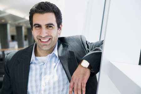 fluency: Portrait of a young businessman