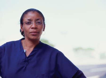 panache: Portrait of a female radiologist