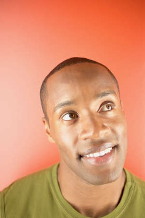 dauntless: Young man looking up