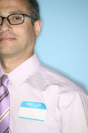 hold ups: Portrait of mid adult man