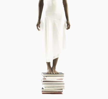 above 18: Young woman seeking knowledge