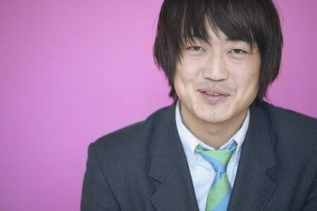 Portrait of a smiling businessman Stok Fotoğraf