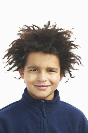 teenaged girls: Portrait of a smiling boy