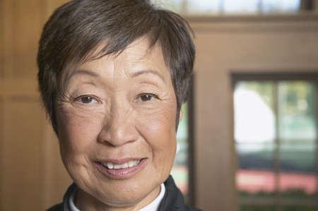 above 30: Portrait of a senior woman