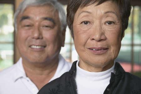 some under 18: Portrait of a senior couple