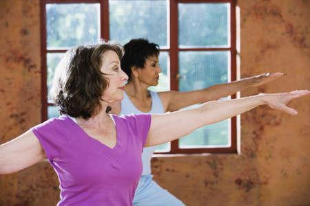 ejercicio aer�bico: Perfil de la mujer mayor que ejercita