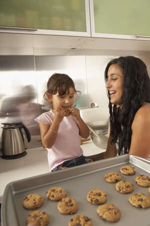 ninety's: Sisters making cookies together