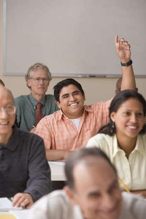 Erwachsene unter einer Klasse