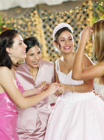 escorting: Girl celebrating with friends at birthday party