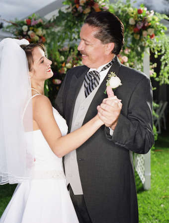 fathering: Bride dancing with her father