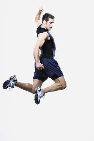 edmonds: Man jumping, Edmonds, Washington, United States