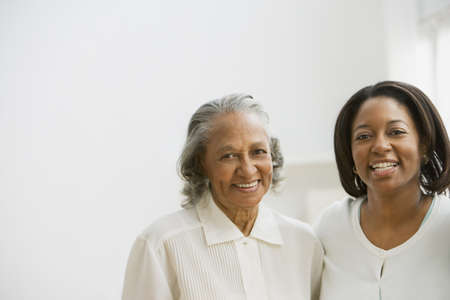 african american woman silhouette: African mother and adult daughter LANG_EVOIMAGES