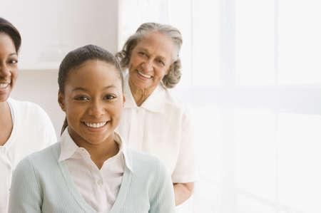 three generations of women: Three generations of African women