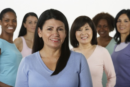 people only: Group of multi-ethnic women