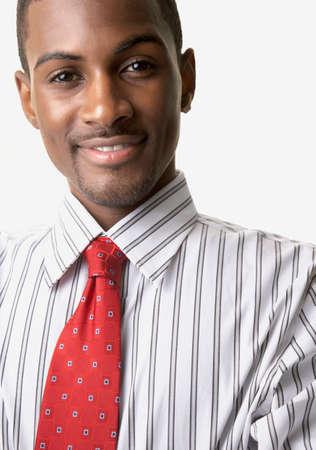 Portrait of African businessman LANG_EVOIMAGES
