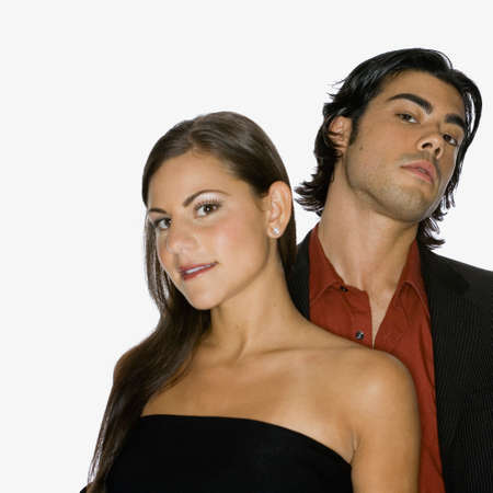 solicitous: Portrait of multi-ethnic couple