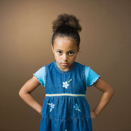 davenport: African American girl with hands on hips