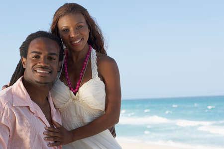 talker: Multi-ethnic couple hugging