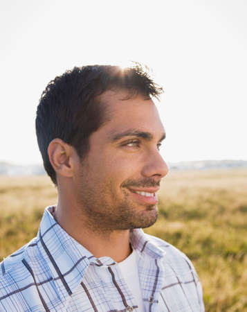 islander: Pacific Islander man in sunlight LANG_EVOIMAGES