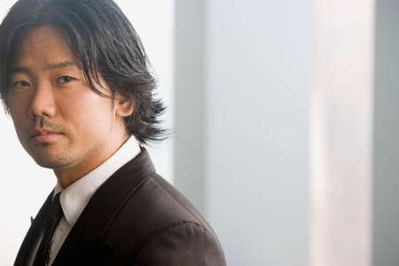 asian businessman: Portrait of Asian businessman