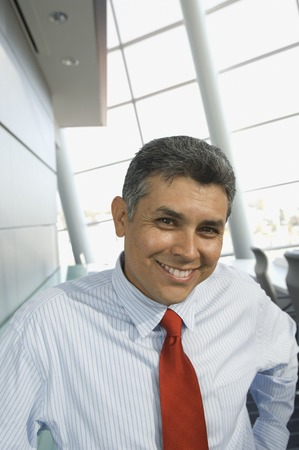 Portrait of Hispanic businessman