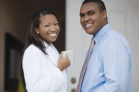 Portrait of African couple