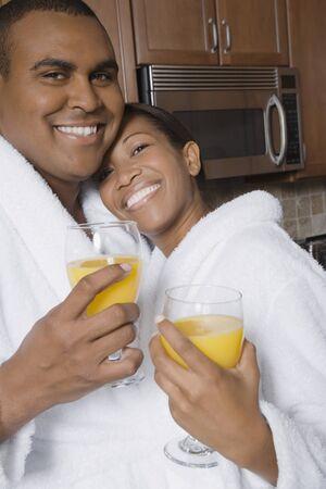 challis: African couple hugging