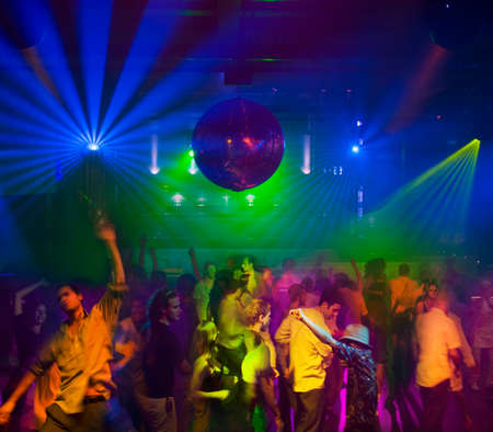 safeguarded: People dancing in nightclub LANG_EVOIMAGES